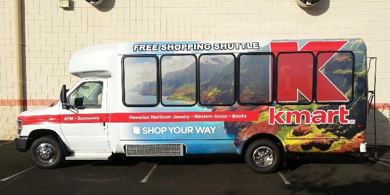 Kmart Kauai Bus