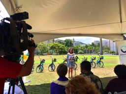 Biki Van LORI MCCARNEY, CEO OF BIKESHARE HAWAI'I Speech•••