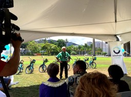 Biki Van Mayor Kirk Caldwell's Speech•••