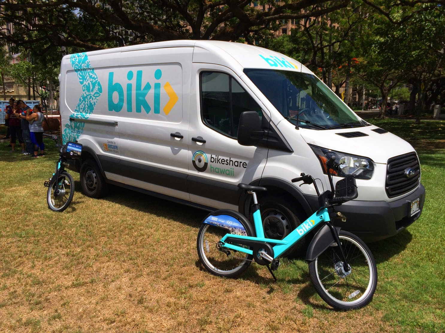 ae08d0847e Biki - Bike Share Honolulu Service Vehicle Graphics