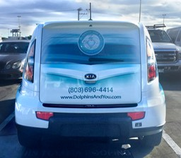 Dolphins&You Kia Soul Rear installed