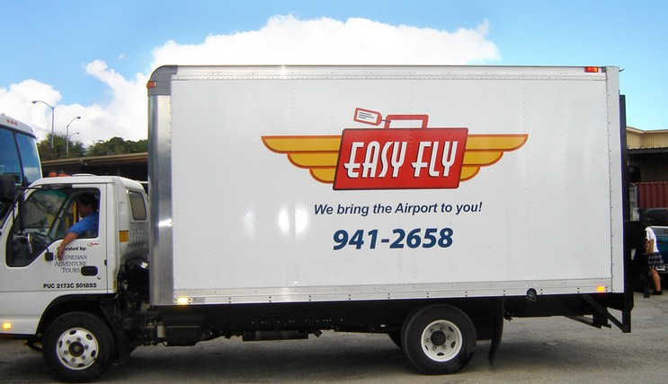 Easy Fly truck installed•