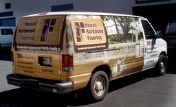 Hawaii Hardwood Flooring Van3•