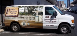 Hawaii Hardwood Flooring Van•