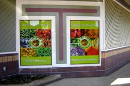 Kale's Natural Foods Windows 5•