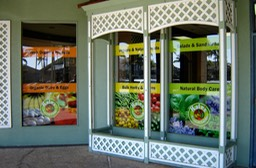 Kale's Natural Foods Windows 6•