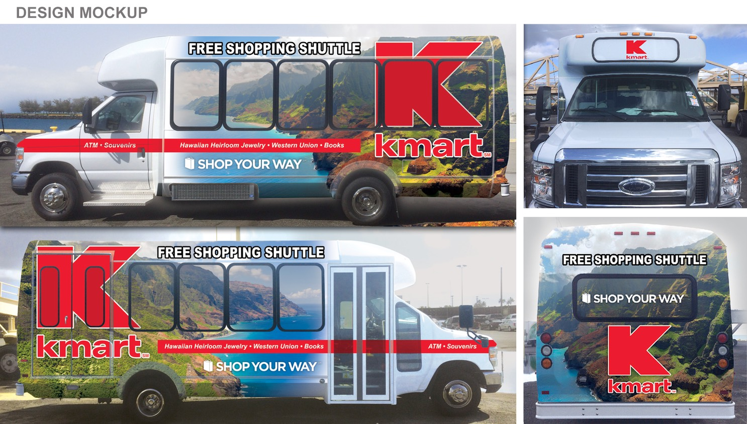 Kmart Kauai Bus Design Concept