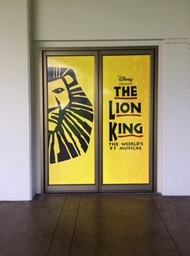 Lion King Blaisdell Doors•