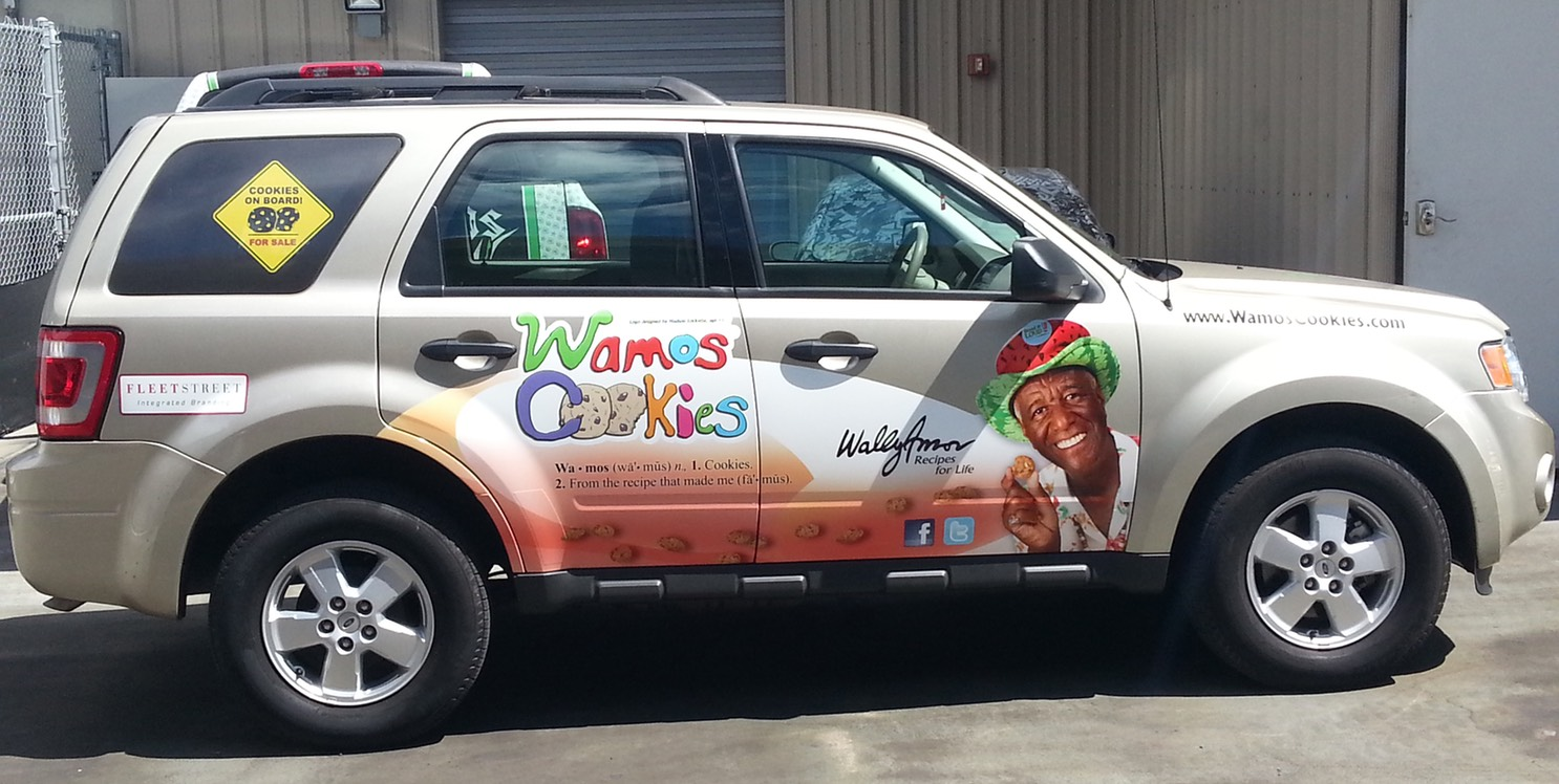 The Wamos Cookies Vehicle Wrap